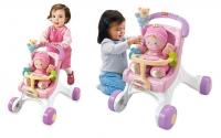 Ходилка-коляска для кукол «Бриллиантовые основы» Fisher-Price